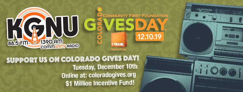 KGNU Colorado Gives Day